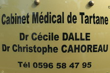 cabinet medical location martinique tartane
