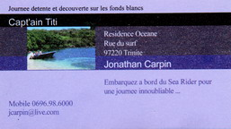 capt ain titi location martinique tartane