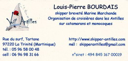 skipper location martinique tartane